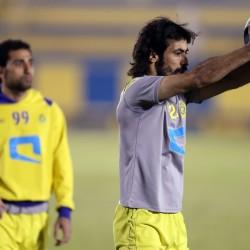 """جمهور النصر : لاخوف على الجهه اليسرى بوجود """" حسين """""""