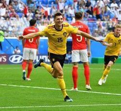 بلجيكا تفوز بالثالث على انجلترا