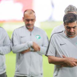 المنتخب الوطني يختتم تحضيراته لأخر مباريات دور المجموعات في كأس آسيا