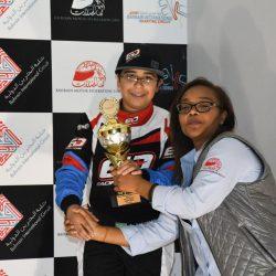 عبدالله الدوسري يدخل تحدٍ جديد في كارتينج الإمارات
