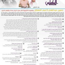 البركة : حسين عبد الغني لاعبي المفضل