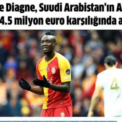 الصحف التركية تنشر مجدداً دياني إلى النصر
