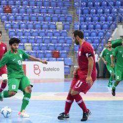 أخضر الصالات يفتتح مشوار التصفيات بالفوز على قطر