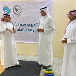 اتحاد رفع الأثقال يفتتح مراكز تدريب ويوقع اتفاقات رياضية