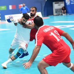 الوحدة السعودي يتغلب على عمان العماني في البطولة الآسيوية لليد