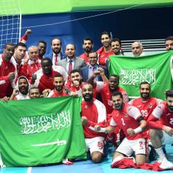 ممثل الوطن الوحدة السعودي  يتصدر مجموعته آسيوياً ويتأهل لنصف النهائي