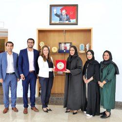 عربية السيدات في زيارة تحفيزية للجنة الأولمبية حرصا على المشاركة المغربية