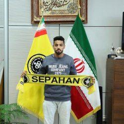 لاعب عماني في الدوري الإيراني