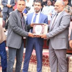 اتحاد الكره اليمني يكرم الكاتب والصحفي  الرياضي المعروف محمد بن عبدات