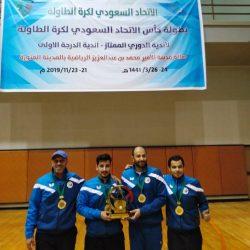 الهلال بطل الدوري وأحد الوصيف يتأهلان إلى الدرجة الممتازة لكرة الطاولة