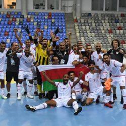 منتخب عمان للصالات يتدرب (عن بعد)