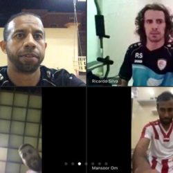 منتخب عمان للصالات يختتم تدريباته عن بعد