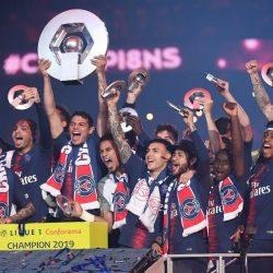 رابطة الدوري الفرنسي تتوج باريس باللقب