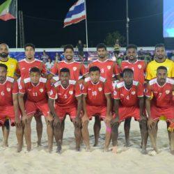 منتخب عمان لكرة القدم الشاطئية يواصل تدريباته عبر زوووم