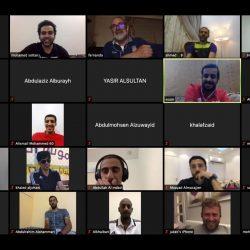 لجنة الحكام تعقد اجتماعًا مرئيًا لمناقشة برنامج الحكام خلال شهر رمضان