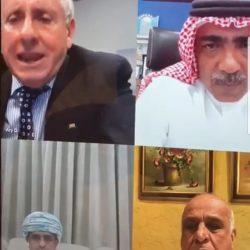 رئيس الاتحاد العماني للكرة الطائرة يحضر إجتماع إتحادات غرب آسيا للطائرة عن بعد