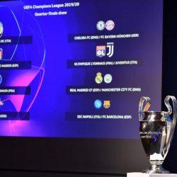 مواجهات نارية محتملة في ربع نهائي دوري أبطال أوروبا