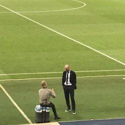 ماذا دار بين جوارديولا وزيدان بعد مباراة مانشستر سيتي وريال مدريد