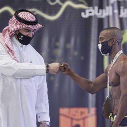 علي القحطاني بطل المملكة لكمال الاجسام فئة الفيزيك تحت طول 170 سم ..