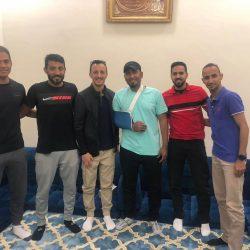 """حكام الفتح وضمك يزورون """"المحمد علي"""""""