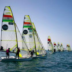 منافسة قوية بعمان في ثاني أيام التصفيات الشراعية المؤهلة لأولمبياد طوكيو