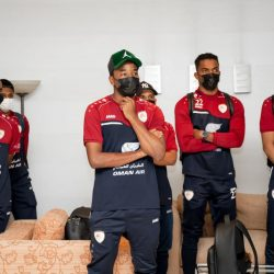 الأحمر العماني في دبي لخوض معسكره الثاني
