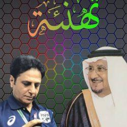 بن ناصر يهني الزغيبي برئاسة الطائرة