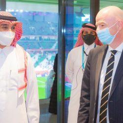 """الفيصل يزور اللجنة الأولمبية القطرية واستاد """"البيت"""" ويحضر نهائي المونديال بالدوحة"""