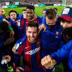 تفاصيل مشاجرة ميسي بعد تأهل برشلونة لنهائي كأس ملك إسبانيا