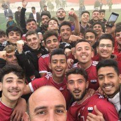 الاتحاد بطلا لدوري الشباب السوري