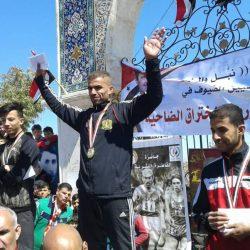 دمشق بطلة سباق الضاحية السوري