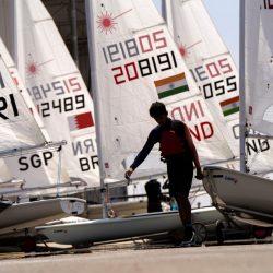 انطلاق بطولة المصنعة المفتوحة للإبحار الشراعي المؤهلة لأولمبياد طوكيو