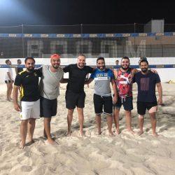 أربعة لقاءات في اليوم الثاني من بطولة أكاديمية شباب جدة الشاطئ الرمضانية