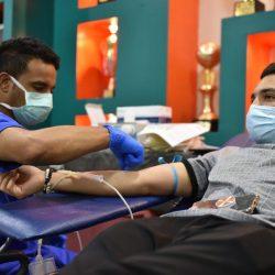النور ينظم حملة تبرع بالدم بالتعاون مع مستشفى الملك فهد