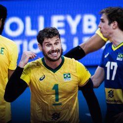 البرازيل أول المتأهلين لنصف نهائي أمم الطائرة