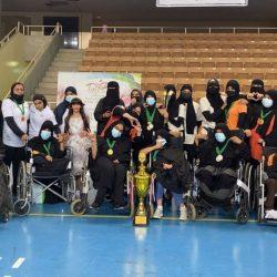 فتيات تبوك يتوّجن ببطولة ألعاب القوى لذوي الإعاقة