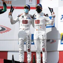 منصة تتويج جديدة للعماني الفيصل الزبير بالبطولة الدولية المفتوحة GT في إيطاليا