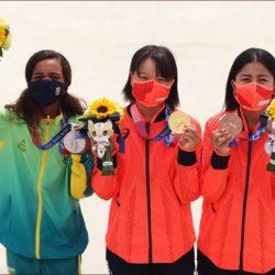 اليابانية نيشيا تتصدر أصغر منصة تتويج أولمبية