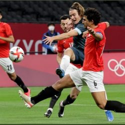 المنتخب المصري يعقد موقفه في الأولمبياد بالخسارة من الأرجنتين